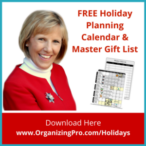 Free Download - Holiday Planning by Marcia Ramsland