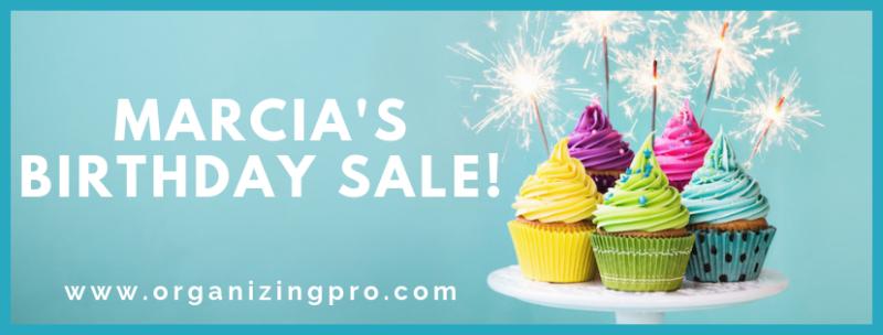 Marcia's Birthday Sale